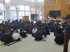 阪神淡路大震災当時の話を聞いています