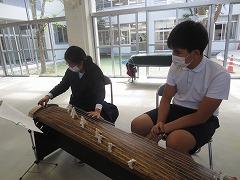 琴の演奏体験