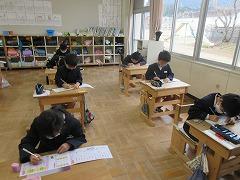 新出漢字の学習が終わりました!
