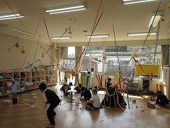 教室が飾られてきました