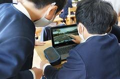 パソコンを使って都道府県の学習